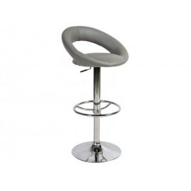 Серый барный стул С-300