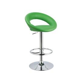 Зеленый барный стул С-300