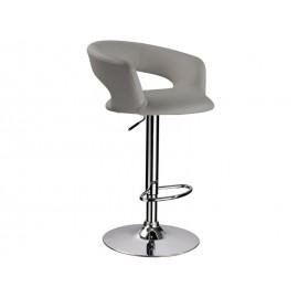 Серый барный стул С-328