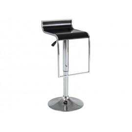 Деревянный барный стул с низкой спинкой С-620