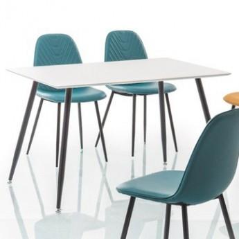 Белый обеденный стол Floro