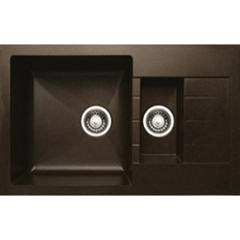 Кухонная мойка Granicom G012 (шоколад)