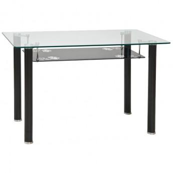 Стеклянный обеденный стол Pino