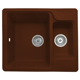 Кухонная мойка Granicom G011 (шоколад)