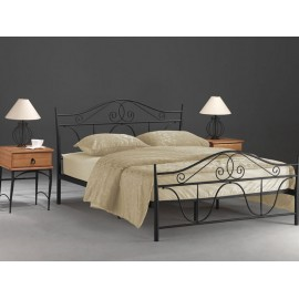 Двуспальная металлическая кровать Denver