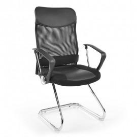 Черное офисное кресло Q-030