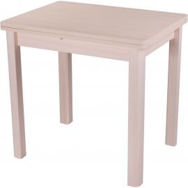 Раскладной кухонный стол Дрезден М-2 дуб молочный/04 60(120)х80