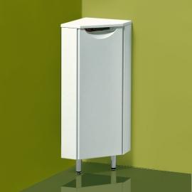 Угловой напольный шкафчик для ванной Акваль Аврора 30