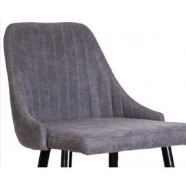 Барный стул Магия темно-серая ткань