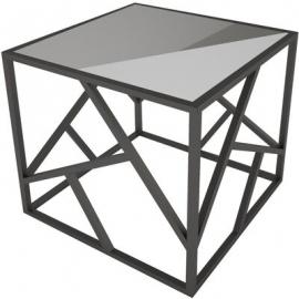 Кофейный столик Империал зеркало/черный