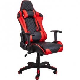Геймерское кресло RACER черно-красное
