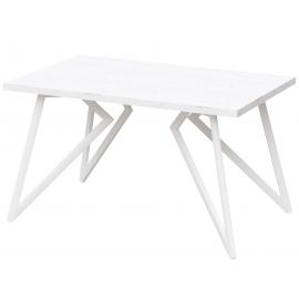 Обеденный стол Женева дуб белый лайт