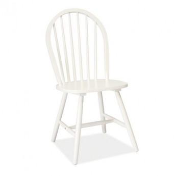 Белый деревянный стул Fiero