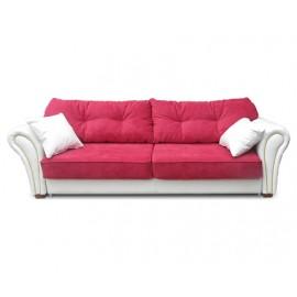Розовый раскладной диван Версаль гл 1667
