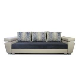 Синий диван-кровать Кватро ПД2 ск 1290