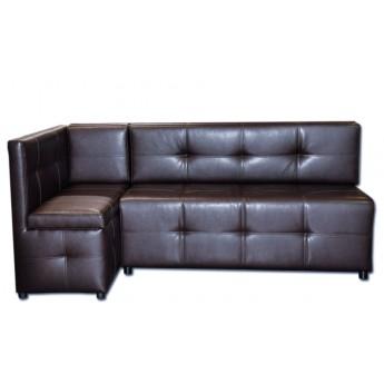 Угловой диван на кухню Барнео