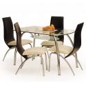 Стеклянный обеденный стол Arachne I