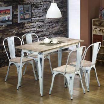 Прямоугольный обеденный стол в индустриальном стиле Magnum