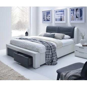 Кровать из экокожи Cassandra-S