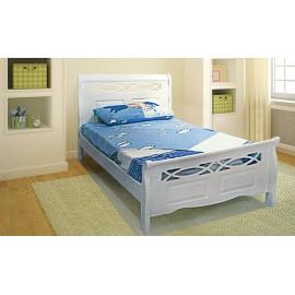 Кровать деревянная Лео слоновая кость