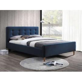 Двуспальная кровать Pinko синяя