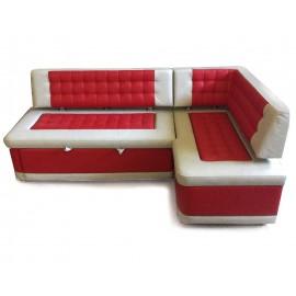 Угловой диван на кухню со спальным местом Виктория-4