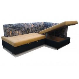 Угловой диван со спальным местом Империя-5