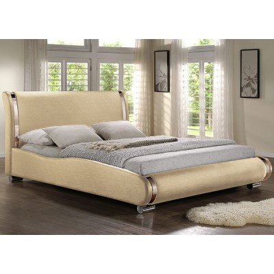 Двуспальная кровать из экокожи Afrodita