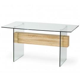 Стеклянный обеденный стол Bergen