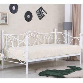 Металлическая односпальная кровать Sumatra
