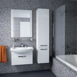Набор мебели для ванной Акватон Ария 65 белый