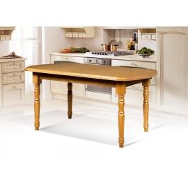 Деревянный раздвижной обеденный стол Аполлон